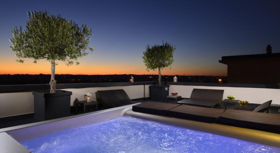 H tel design rome roomforday for Hotel design rome
