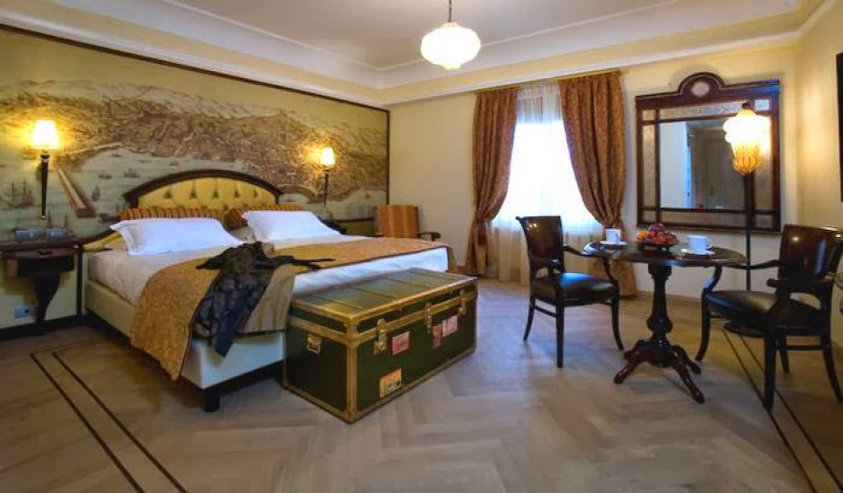 H tel journ e g nes grand hotel savoia r servez un day for Boutique hotel genova
